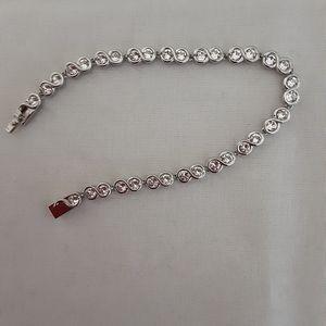 Nic & Syd Tennis Bracelet with Swaroski Crystals